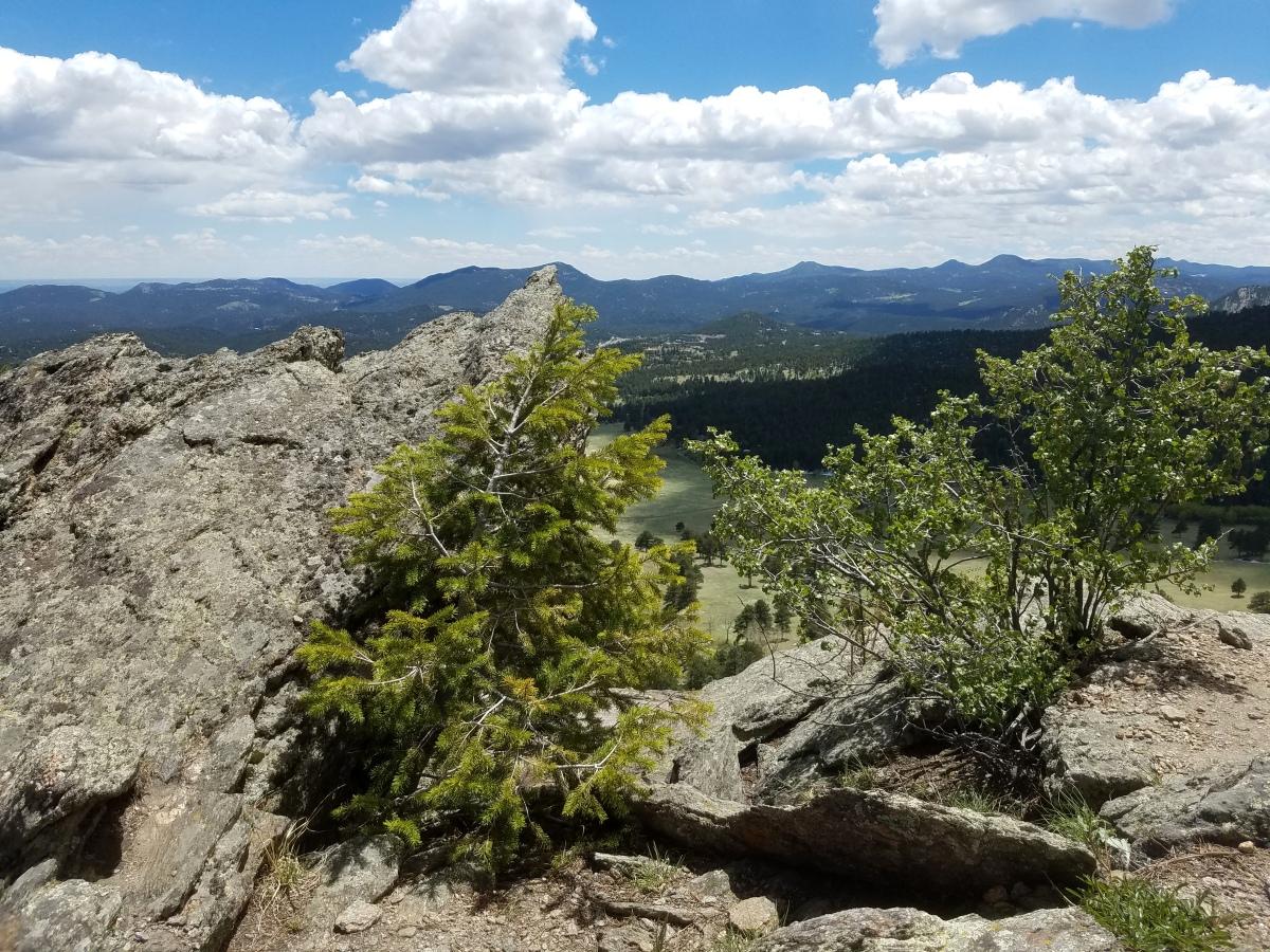 View from Bergen Peak, near Evergreen Colorado.