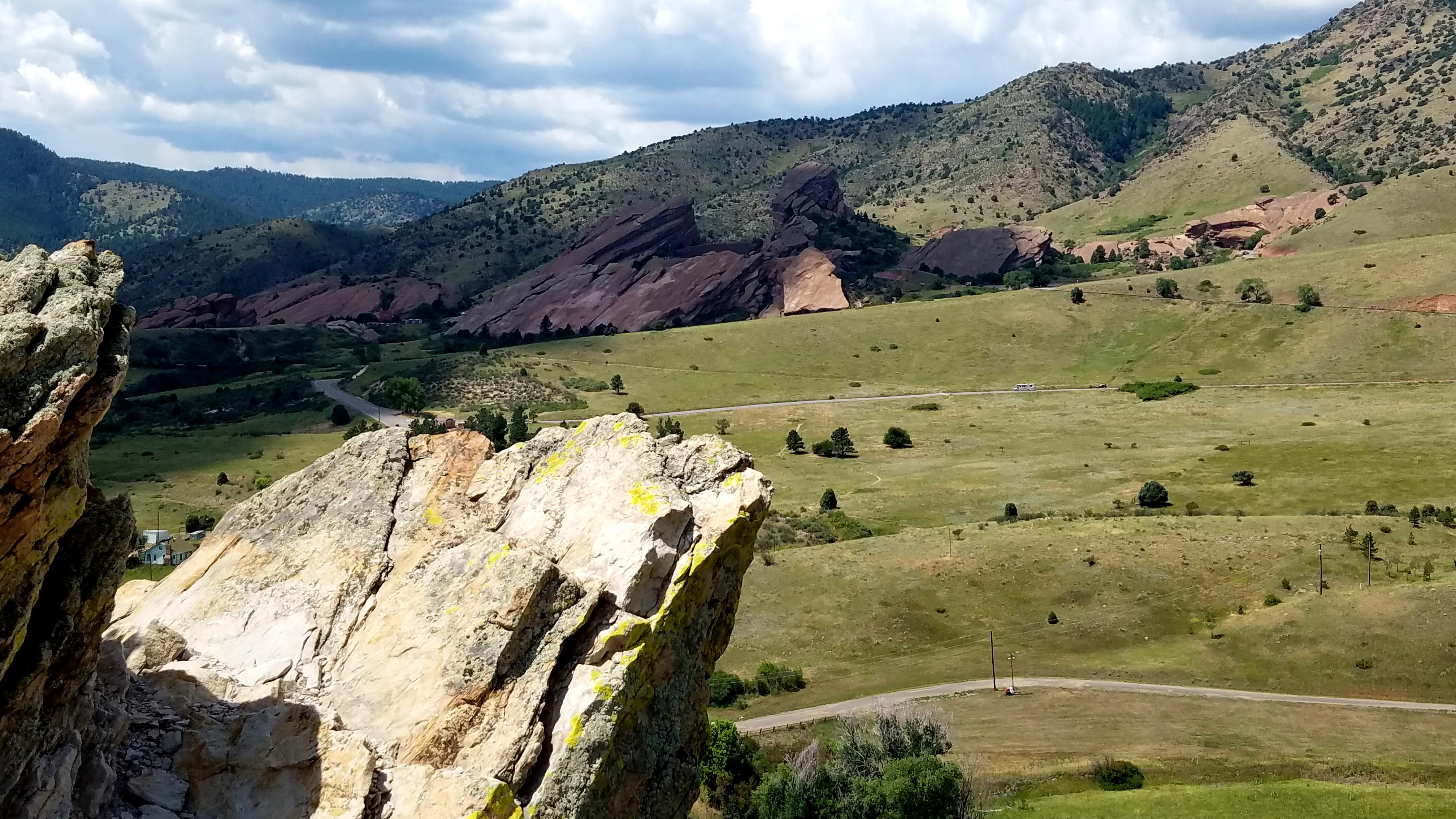 Red Rocks Amphitheater from Dakota Ridge Trail