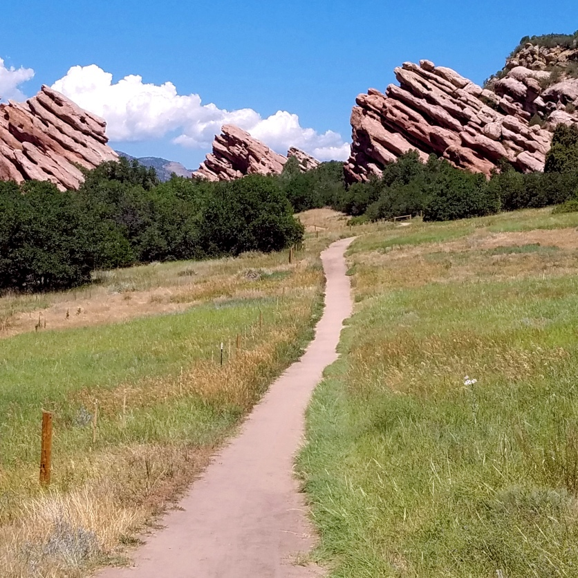 Red Rock Spires at South Valley Park.