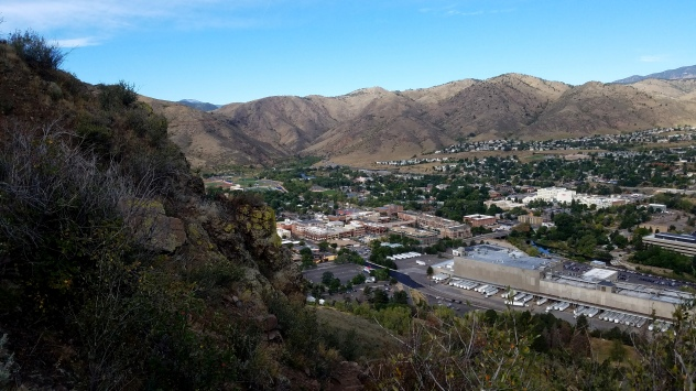 Coors Brewing Company from South Table Mountain Park