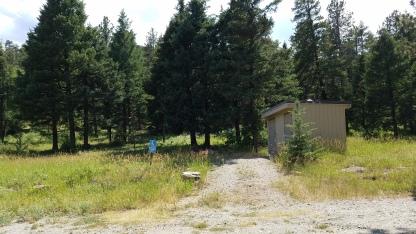 Restroom at Mount Evans State Wildlife area