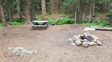 Campsite at Camprock