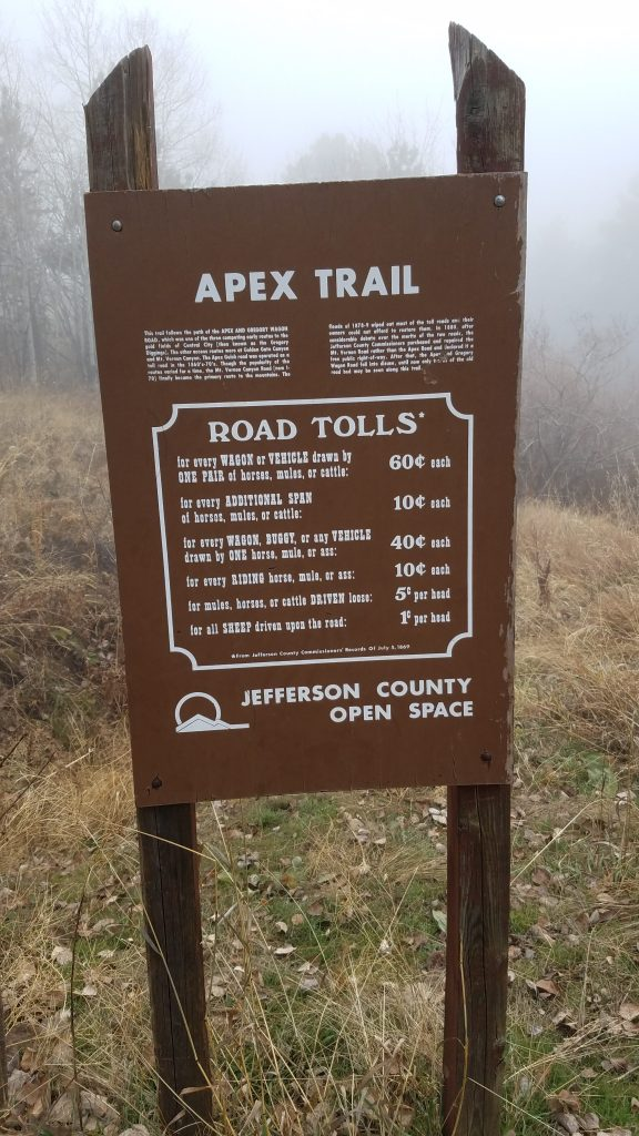Road Tolls in Apex Park