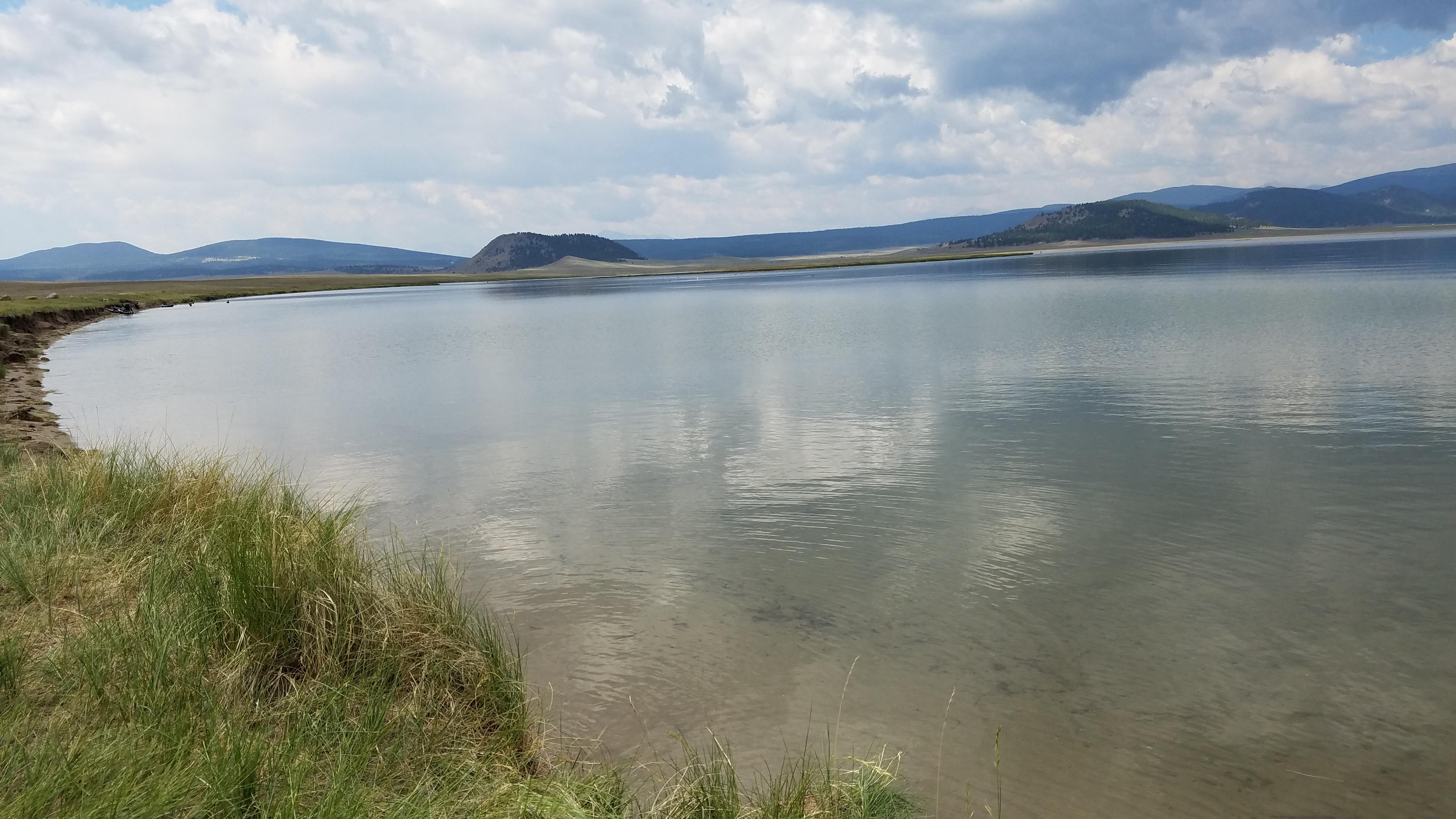 Banks of Lake Antero Reservoir