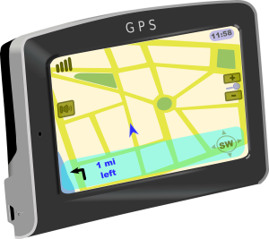 Car GPS Device used for navigation