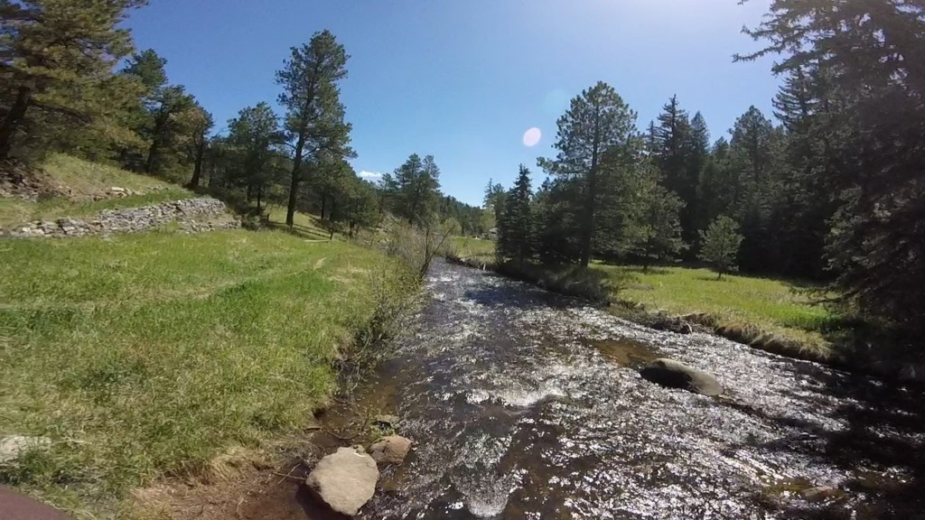 Bear Creek in Evergreen Colorado