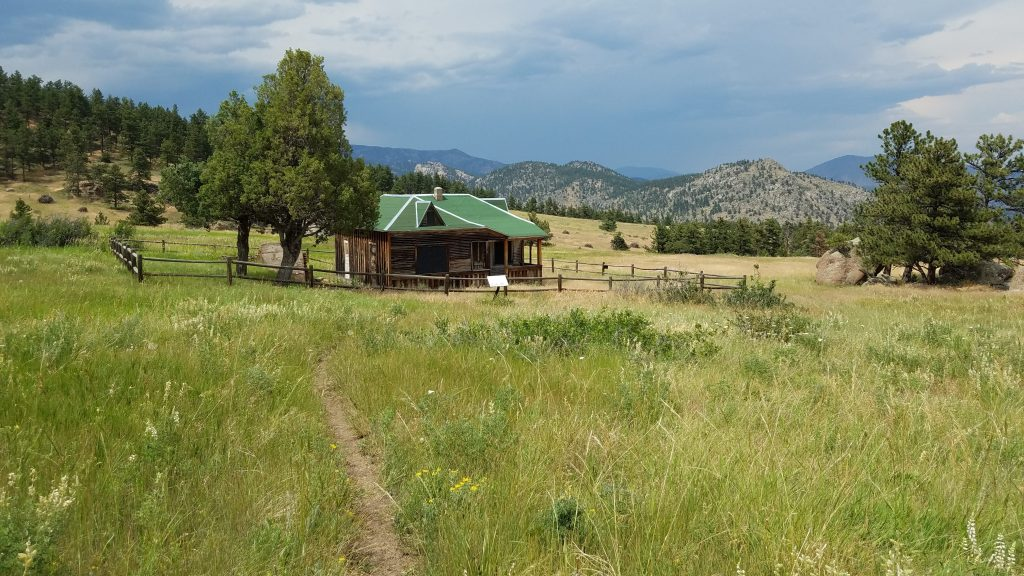 Rocky Mountain Farm house in Hall Ranch