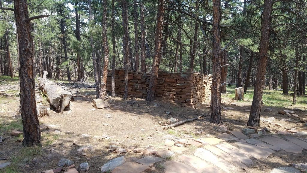 Stone Cabin Ruins in Heil Ranch Park
