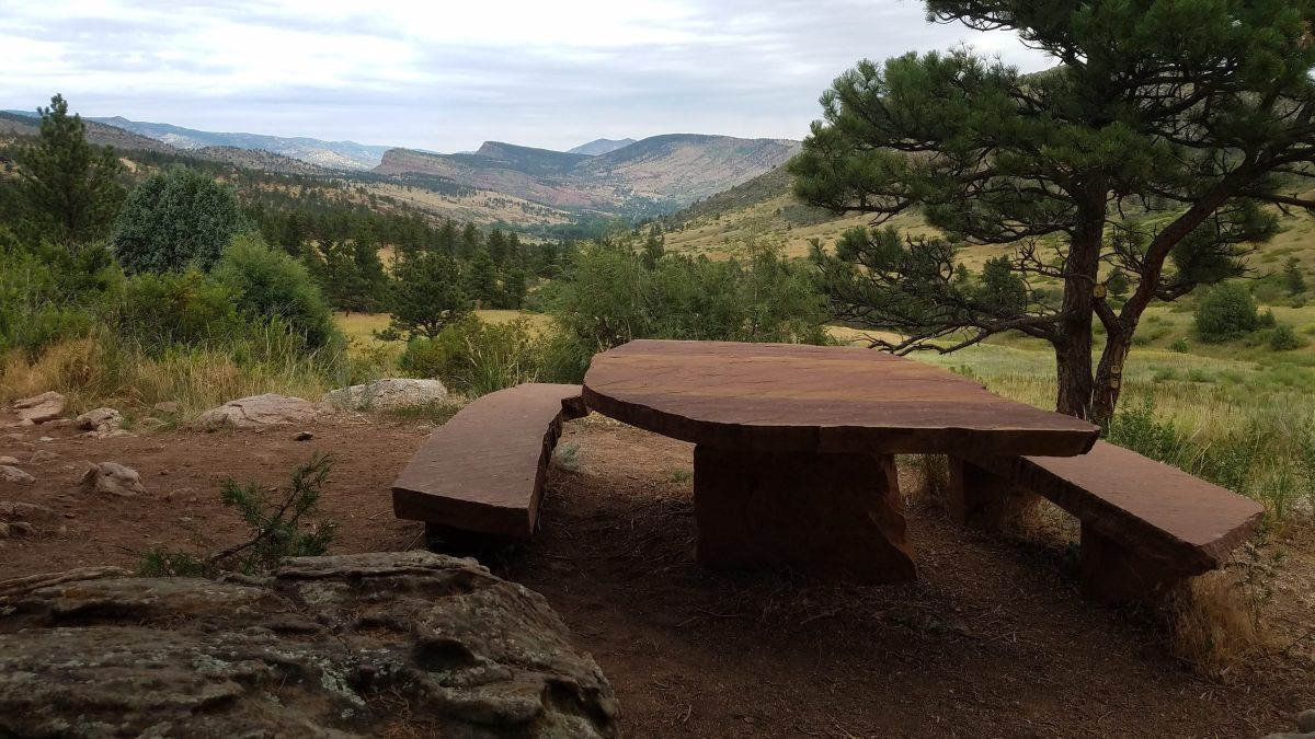 Picnic Table in Heil Ranch