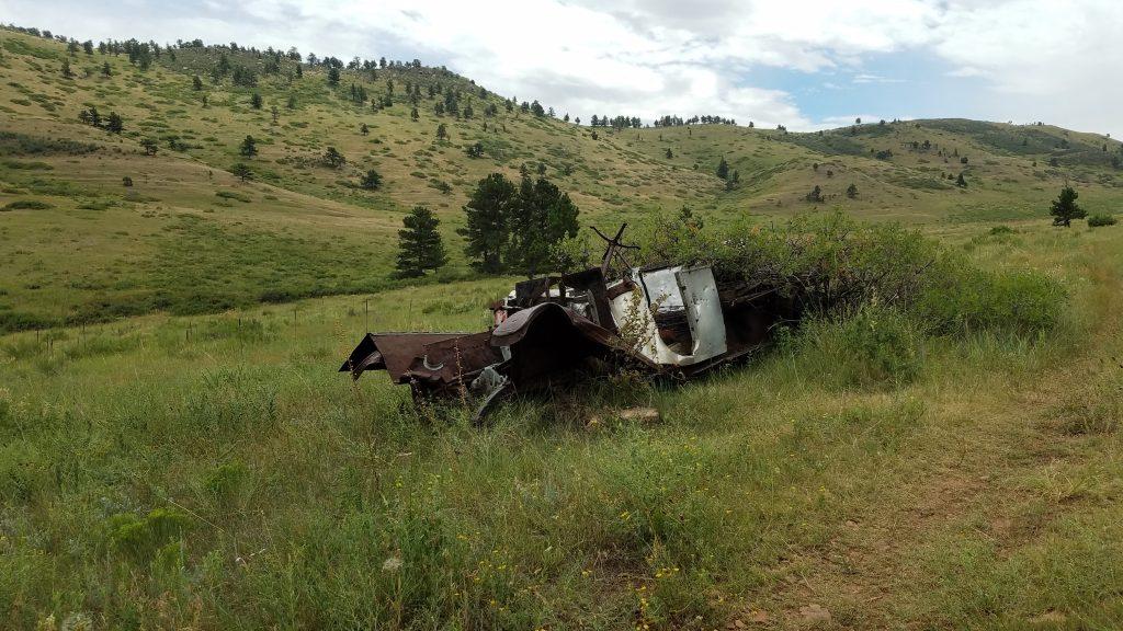 Abandon Truck in Heil Ranch Park