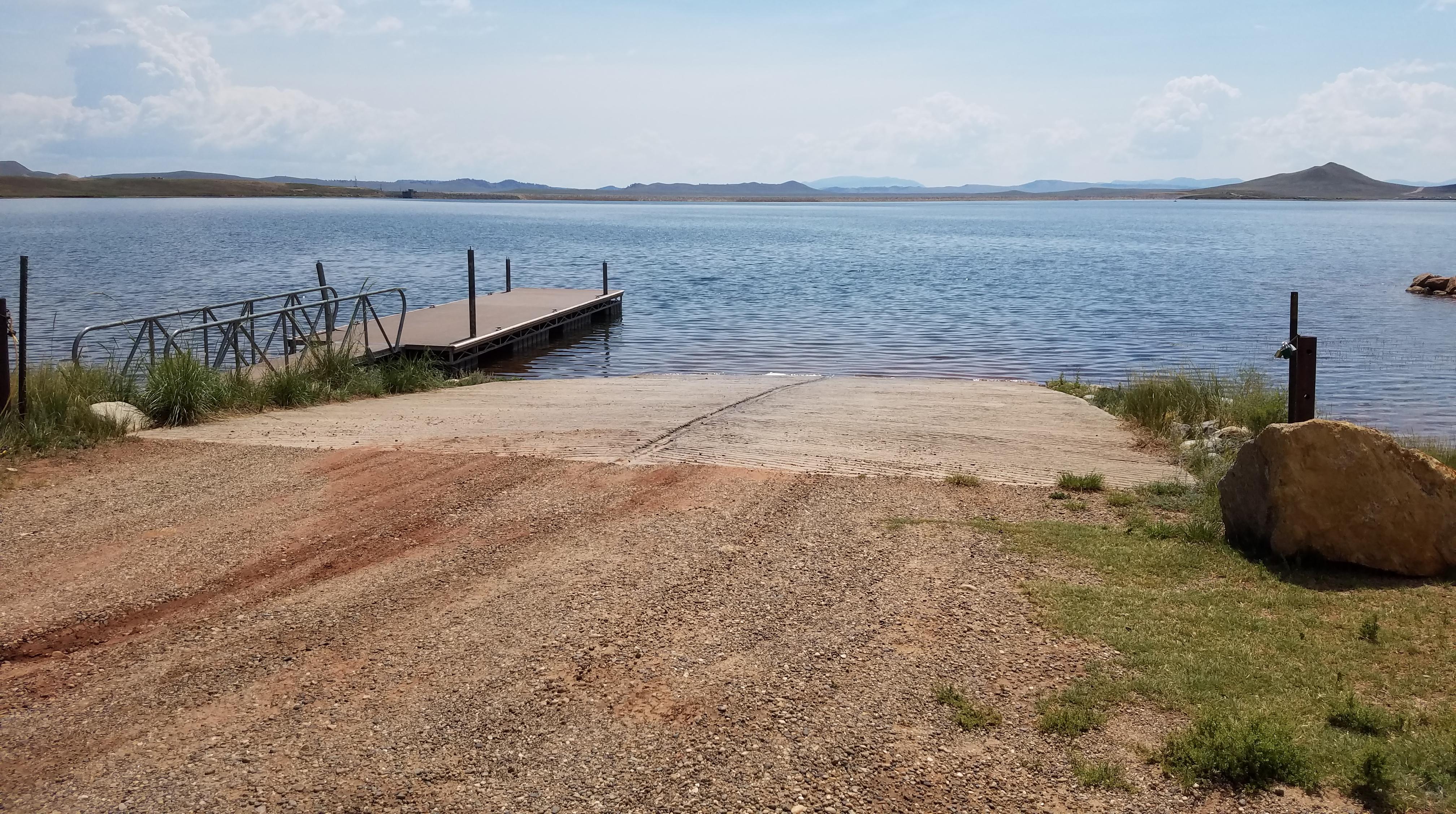 Antero Reservoir Boat Ramp