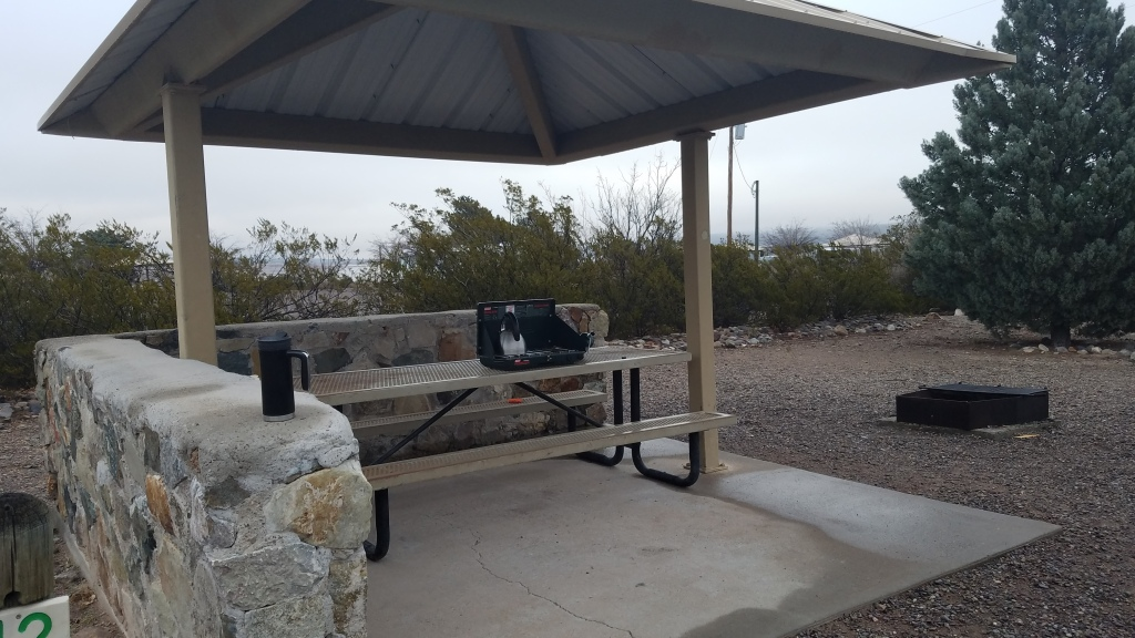 Picnic Shelter at Caballo Lake State Park