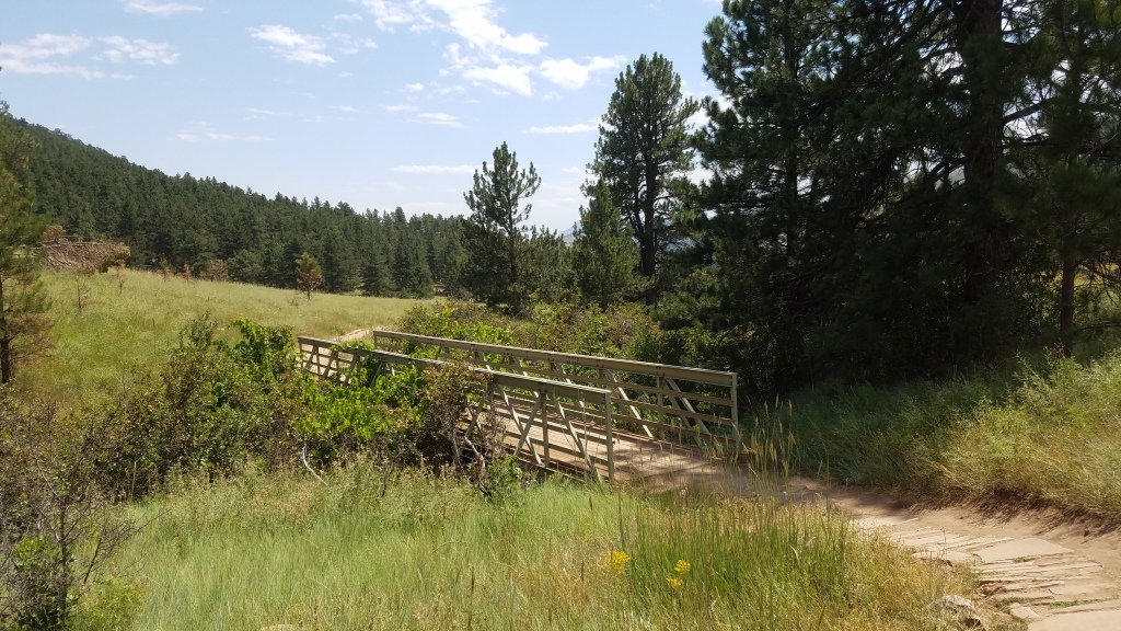 Foot Bridge in Heil Ranch