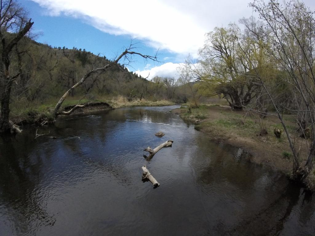 """Bear Creek from Lair O"""" The Bear Park"""