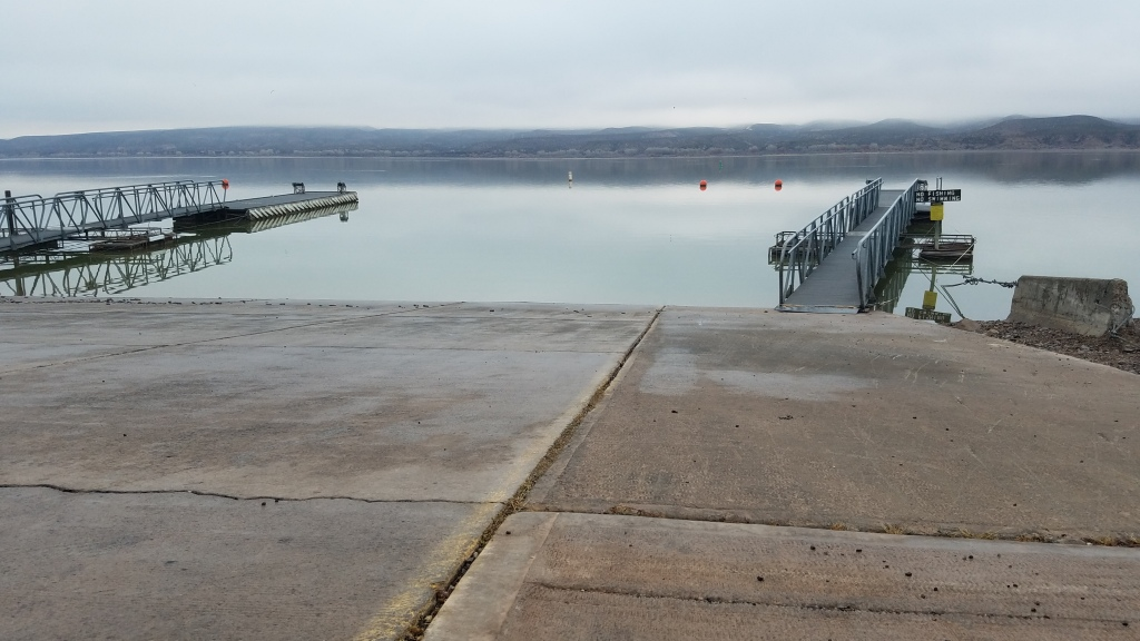 Boat Ramp at Caballo Lake