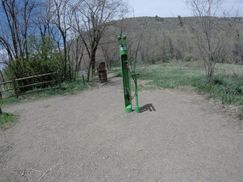 Bike repair Station at Lair O' The Bear Park