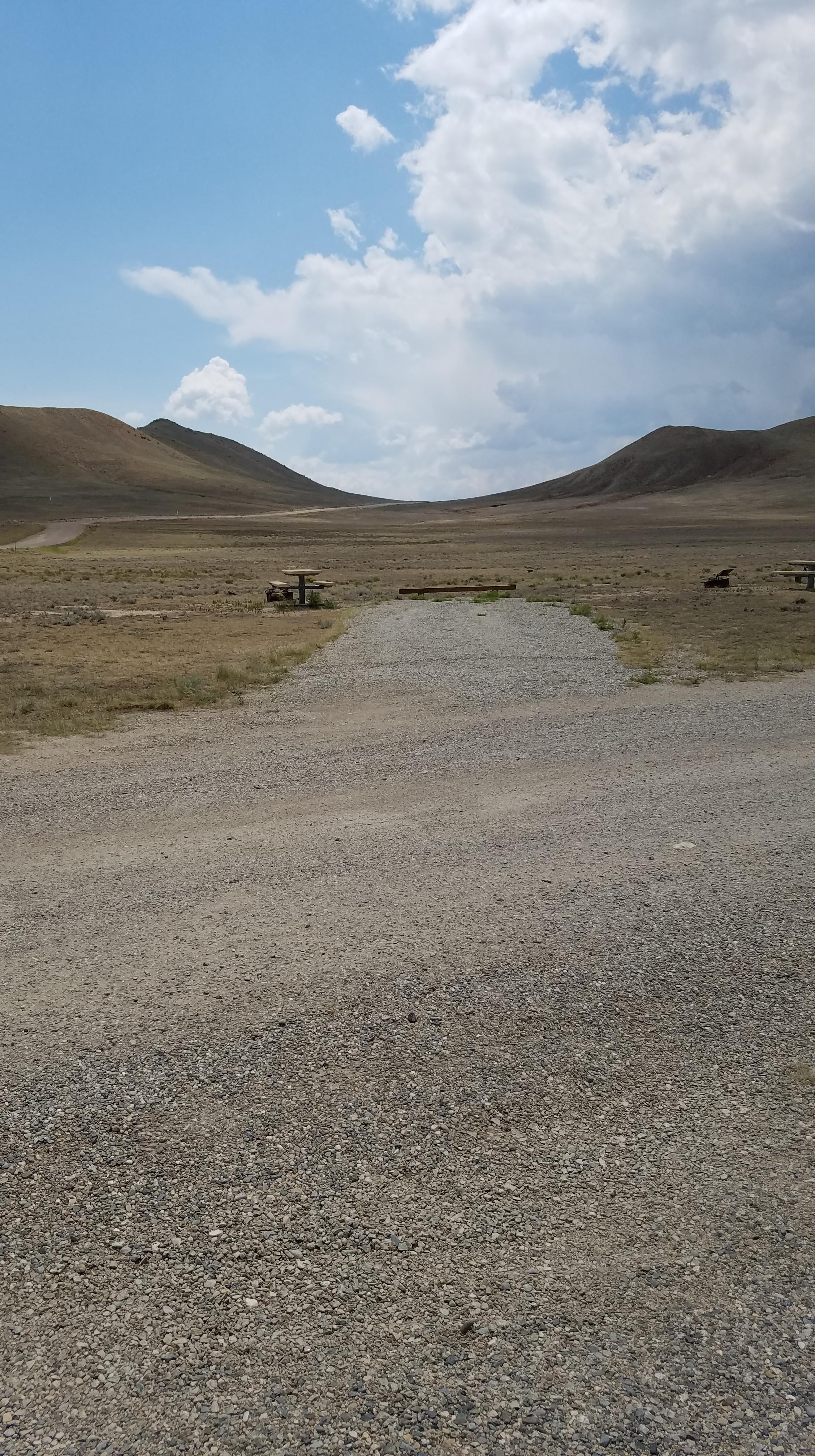 Free Campsite at Antero Reservoir near Fairplay Colorado