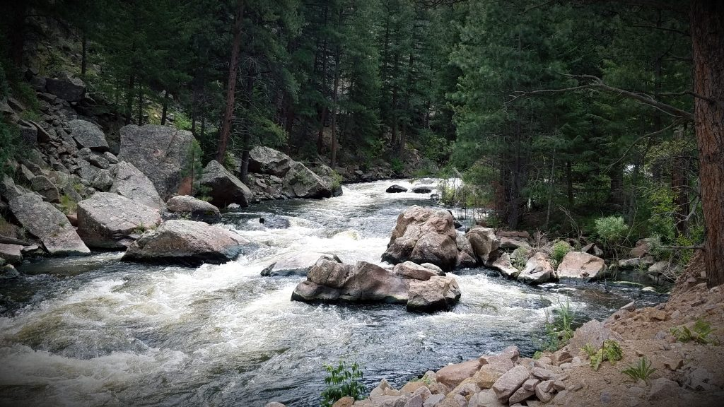 Rapids on the North Saint Vrain