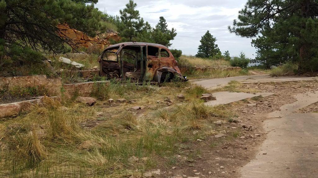 Abandon Car in Heil Ranch Park